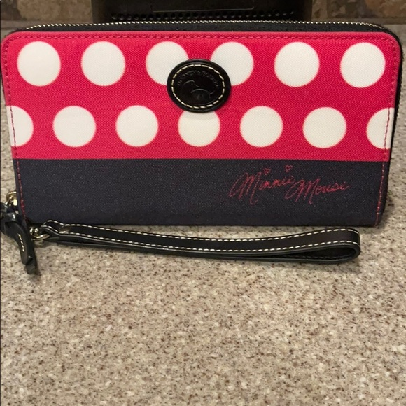 Dooney & Bourke Minnie Mouse Rock the Dots wallet
